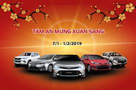 Toyota Tiền Giang thông báo chương trình khuyến mãi dịch vụ mừng Xuân Kỷ Hợi