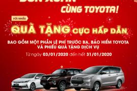 Giá lăn bánh Toyota Innova, Vios tháng 01/2020
