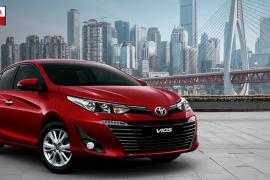 So sánh Toyota Vios 2020 so với phiên bản Vios 2019