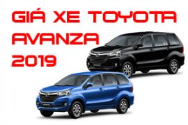 Bảng giá xe Toyota Avanza tại Toyota Tiền Giang cập nhật mới nhất 2019