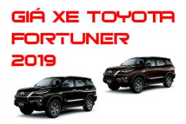 Bảng giá xe Toyota Fortuner trong năm tháng 3/2019