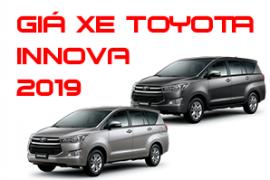 Bảng giá xe Toyota Innova cập nhật mới nhất 2019 cho cả 4 phiên bản