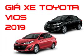Bảng giá xe Toyota vios cập nhật mới nhất tháng 3/ 2019