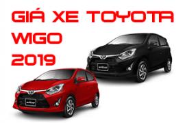Bảng giá xe Toyota Wigo ưu đãi cập nhật mới nhất 2019