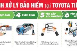 Toyota Tiền Giang tư vấn các gói bảo hiểm