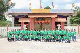 Toyota Tiền Giang viếng thăm các cụ già neo đơn tại viện dưỡng lão chùa Liên Bửu