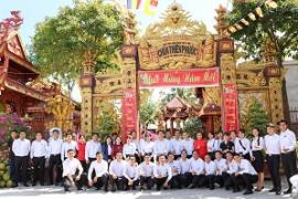 Toyota Tiền Giang viếng thăm chùa Thiên Phước và chùa Vạn Đức nhân dịp đầu năm mới
