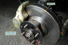 Phương pháp xử lý khi ô tô bị bó phanh