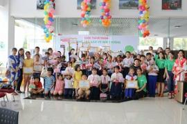 Trẻ em góp phần bảo vệ môi trường thông qua cuộc thi vẽ tranh cùng Toyota Tiền Giang