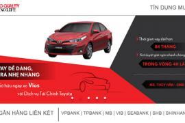 Quy trình mua xe trả góp tại Toyota Tiền Giang.