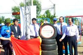 Toyota Việt Nam hỗ trợ xây dựng sân chơi cho trẻ em nông thôn