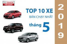 Toyota Vios trở lại top 1 top trong 10 mẫu xe bán chạy nhất tháng 5 tại thị trường Việt Nam