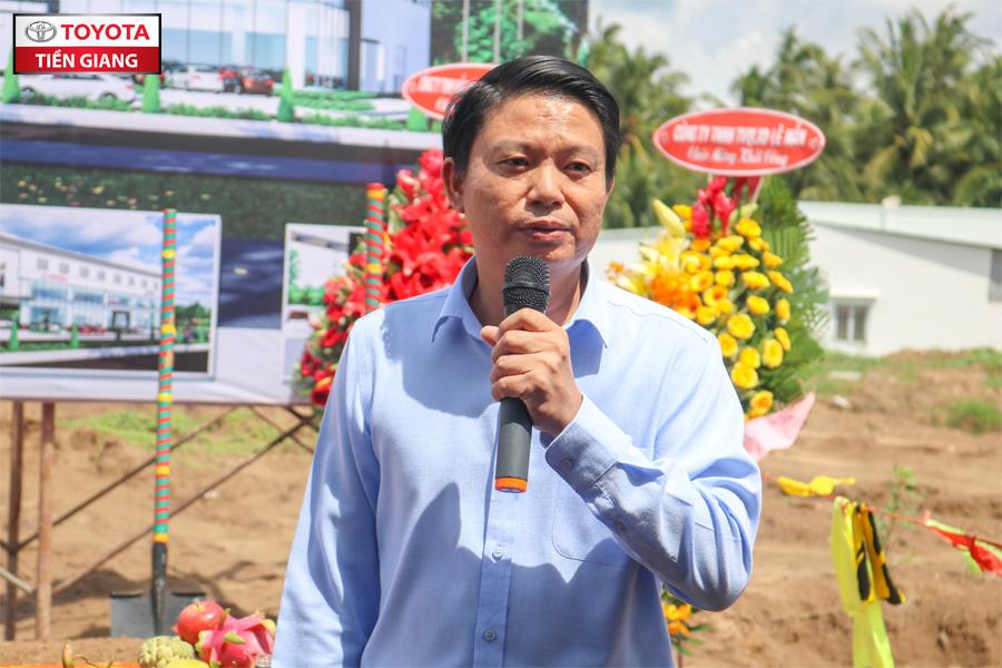 Ông Sơn – đại diện Công ty TNHH Tân Việt