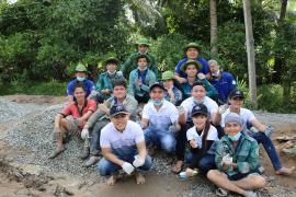 Ấm áp buổi giao lưu cùng các chiến sĩ tình nguyện mùa hè xanh
