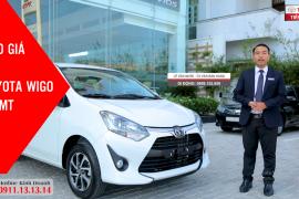 Báo giá xe Toyota Wigo E 5MT (số sàn) ▶ Toyota Tiền Giang