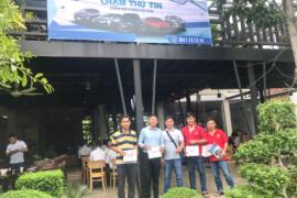 Toyota Tiền Giang tổ chức ngày hội lái thử xe tại Long An