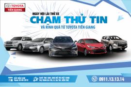 Lái thử xe cùng Toyota Tiền Giang diễn ra vào ngày 03/08/2019 tại Bến Tre