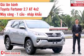 Giá lăn bánh Toyota Fortuner 2.7 AT 4x2 máy xăng số tự động 1 cầu tại Toyota Tiền Giang