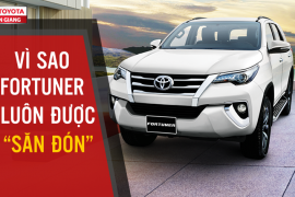 """Vì sao dòng xe Toyota Fortuner 2019 được """"săn đón"""" nhiều nhất trong phân khúc SUV"""