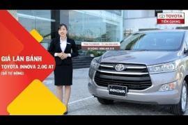 Giá lăn bánh xe Toyota Innova G 2.0 AT (số tự động) tại Toyota Tiền Giang