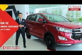 Giá xe Toyota Innova Venturer (số tự động) tại Toyota Tiền Giang