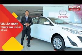 Giá xe Toyota Vios 1.5E MT (số sàn) tại Toyota Tiền Giang
