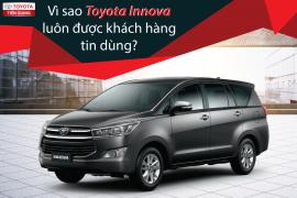 Xe 7 chỗ giá rẻ tràn ngập, Vì sao Toyota Innova vẫn bán chạy?