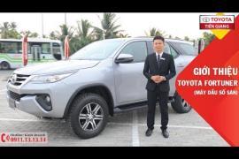 Giới thiệu xe Toyota Fortuner 2.4MT 4X2 (máy dầu số sàn)