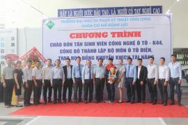 Toyota Tiền Giang trao học bổng khuyến khích tài năng trị giá 150 triệu đồng cho sinh viên trường ĐH SP Kỹ Thuật Vĩnh Long