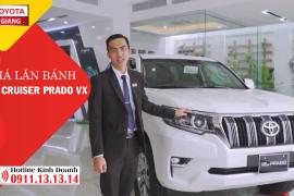Giá lăn bánh Toyota Land Cruiser Prado VX 2019 tại Toyota Tiền Giang