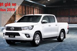 Toyota Việt Nam chính thức công bố giá bán Toyota Hilux phiên bản 2019
