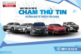 Toyota Tiền Giang Thông báo chương trình lái thủ xe tháng 9