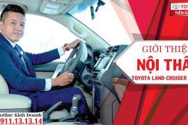Giới thiệu về nội thất Toyota Land Prado tại Toyota Tiền Giang