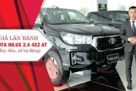 Giá lăn bánh Toyota Hilux 2.4 4x2AT tại Toyota Tiền Giang