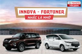 Toyota Innova và Fortuner - Nhắc là nhớ