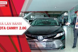 Giá lăn bánh xe Toyota Camry 2.0G tại Toyota Tiền Giang