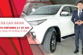 Giá lăn bánh Toyota Fortuner 2.7AT 4x4 tại Toyota Tiền Giang