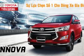 Toyota Innova – Sự lựa chọn số 1 cho dòng xe gia đình