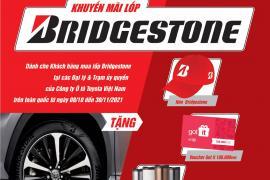 MUA LỐP BRIDGSTONE - NHẬN NGAY QUÀ NGON