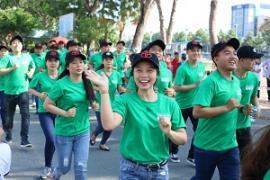Toyota Tiền Giang tổ chức chạy bộ vì môi trường