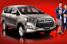 Bảng giá xe Toyota - Toyota Tiền Giang