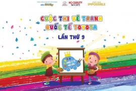 """Toyota Tiền Giang chấp cánh sáng tạo cho trẻ em thông qua cuộc thi vẽ tranh quốc tế Toyota """"CHIẾC Ô TÔ MƠ ƯỚC"""""""