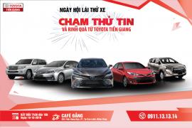 Toyota Tiền Giang Thông báo chương trình lái thử xe tháng 11/2019