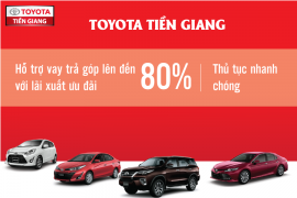 Những lưu ý quan trọng khi mua xe Toyota trả góp.