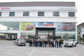 Lễ phát động chương trình giải thưởng chất lượng 2019 tại Toyota Tiền Giang
