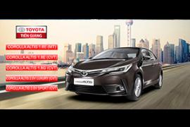 Giá xe Toyota altis cập nhật mới nhất 12/2018 hấp dẫn hơn so với 2017