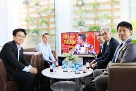 Toyota Tiền Giang vinh dự đón tiếp Ban lãnh đạo từ 2 đại lý Toyota chuẩn theo phong cách Nhật Bản