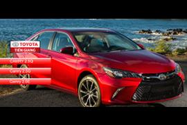 Giá xe Toyota camry 2018 và nhiều ưu đãi hấp dẫn cập nhật 12/2018