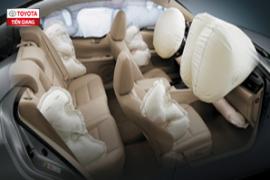 Hệ thống túi khí trên ôtô Toyota hoạt động như thế nào?