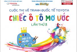 """Toyota Tiền Giang phát động cuộc thi vẽ tranh quốc tế Toyota """"Chiếc ô tô mơ ước"""" lần thứ 8"""